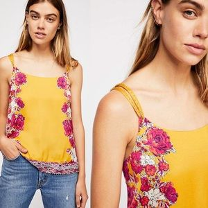 Intimately Free People Move Lightly Printed Cami